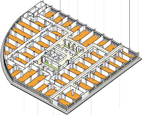 2階 インキュベーションフロアを表す画像