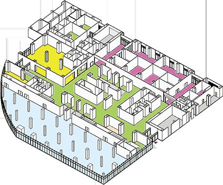 1階 オープンエリア(共用部)を表す画像