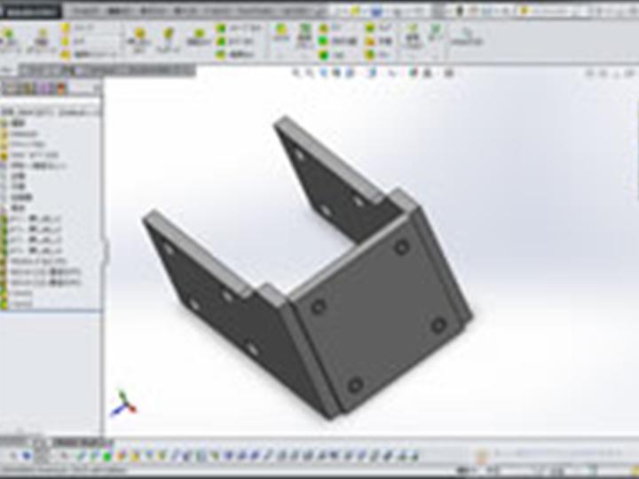3次元CAD Solid Works(ソリッドワークス)中級講座の画像