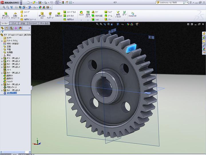 3次元CAD Solid Works(ソリッドワークス)の画像