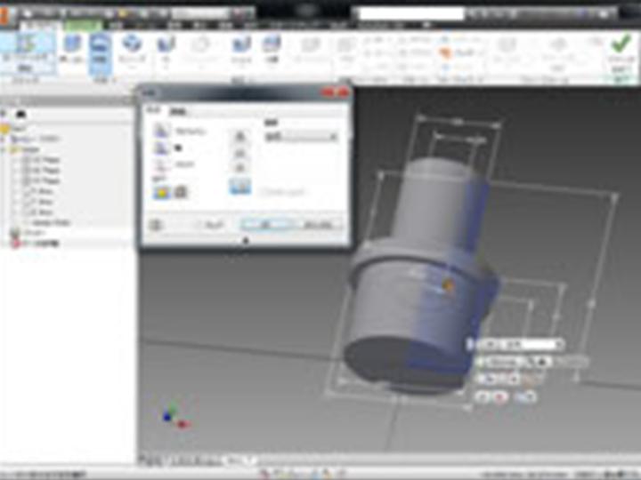 3次元CAD Inventor(インベンター)初級講座の画像